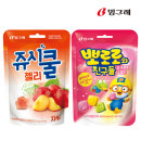 쥬시쿨젤리 자두+뽀로로와 친구들 젤리 50g 1+1(총2개)