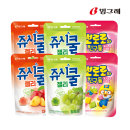 쥬시쿨젤리 맛별2종+뽀로로와친구들 젤리 2+2+2(총6개)