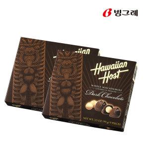 하와이안호스트 다크 초콜릿 99g 2개