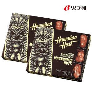 하와이안호스트 마카다미아넛트 초콜릿 113g 2개