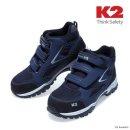 튼튼한 K2 안전화 K2-84 6인치 벨크로 에어메쉬 경량