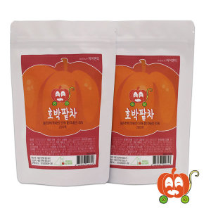 팥물 늙은호박 국산 호박팥차 40개입 삼각티백 S라인