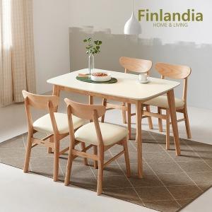 핀란디아 데니스 4인식탁세트(의자4)