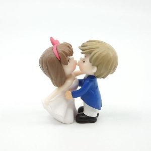 테라리움 피규어-키스 커플 세트 B타입