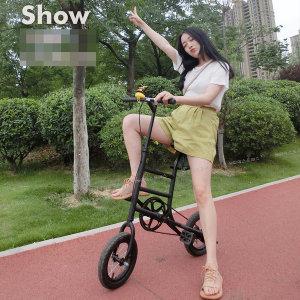 포켓미니자전거 휴대간편 에어로휠자전거 D-779