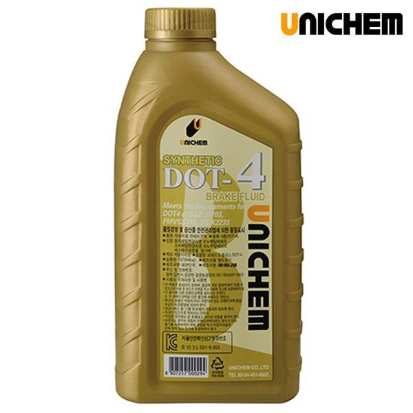 UNICHEM 고급형 브레이크액/브레이크오일 DOT-4/0.94L
