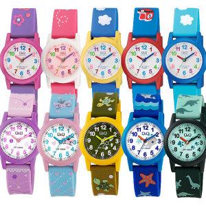 큐앤큐 어린이시계 초등학생 아동 전자 방수 시계선물