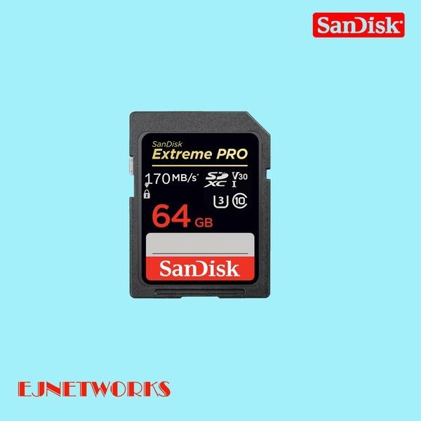 EXTREME PRO SDXC 64G Class10 SDXXY 4K SD카드