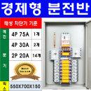 TSE-475-09/분전반/연강노출철함/배전함/두꺼비집/FRP