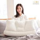 수면공감  우유베개 라텍스 기능성 경추 베개 (2EA)