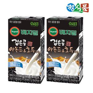 베지밀 검은콩 아몬드와 호두 190ml 16팩 - 상품 이미지