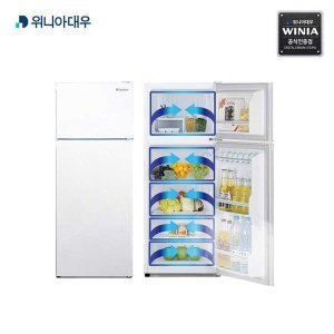 대우 가성비 냉장고 2도어 144L 실용성 굿 EKRB151CDW