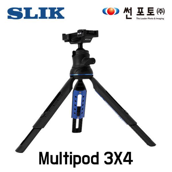 썬포토정품 슬릭 Multipod 3X4 삼각대 스마트폰 카메
