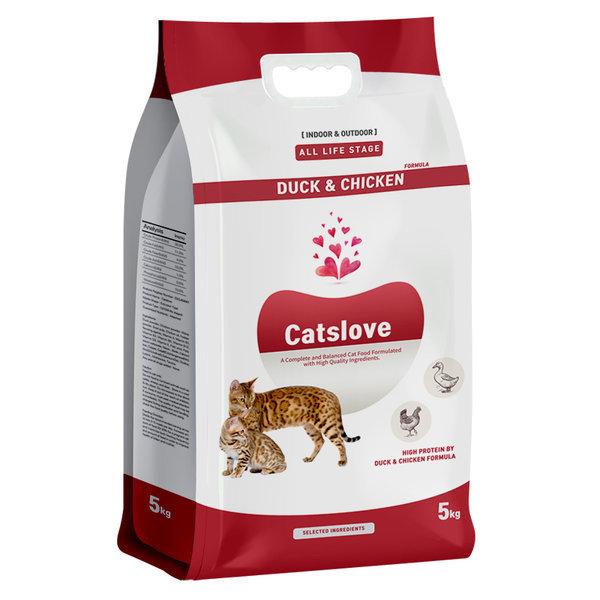 캣츠러브/캣츠랑 고양이사료 5kgX4개