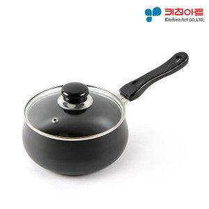 키친아트 쥬노 블랙 경질냄비 편수 18cm (EL1218)