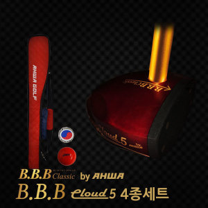 추천파크골프/BBB 클라우드5 파크채 4종세트/아화파크