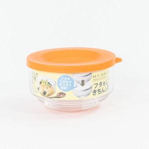 일본 마이델리카-도요글라스유리찬통(3P세트)오렌지