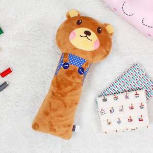 유아 어린이 애착 안전벨트 인형 코코(곰)