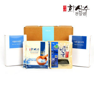 신안천일염/미역 2종 선물 SET/추석/한가위/명절/단체