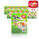 한스코리아공식 쿡시쌀국수 김치맛 12개 1BOX
