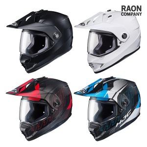 HJC DS-X1 오프로드 오토바이 헬멧 바이크 홍진