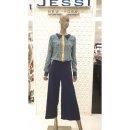 (현대Hmall) 2001 OUTLET   JESSI NEWYORK  제시뉴욕  블루 패턴  블라우스  J88-NSBP1241