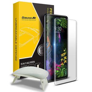 LG G8 UV액상점착 풀커버 강화유리필름