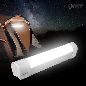 OMT 자석및스트랩내장 캠핑 LED 랜턴 충전식 OCP-L62
