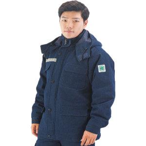 겨울작업복 솜청지작업복상의 겨울용접복