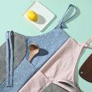 북유럽 앞치마 + 수건 아이디어 물기제거 그린 핑크