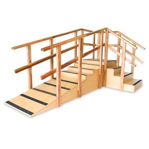 ㄱ자 코너 계단 경사훈련기 - 보행/걷기운동기