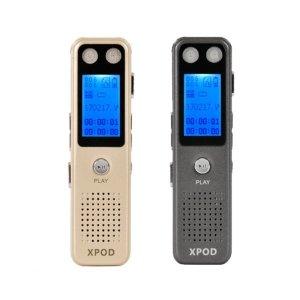 녹음기 XP777 보이스레코더 8GB 570시간저장-엑스팟