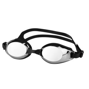 일반용 미러코팅 렌즈 패킹 수경 DE300 블랙 물안경