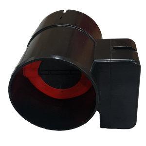 힘펠 전동댐퍼 MDD-100DP-P (화장실 담배 냄새 차단)