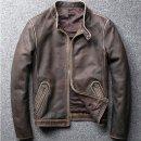 할리 빈티지 오토바이 고급소가죽 가죽자켓 점퍼805