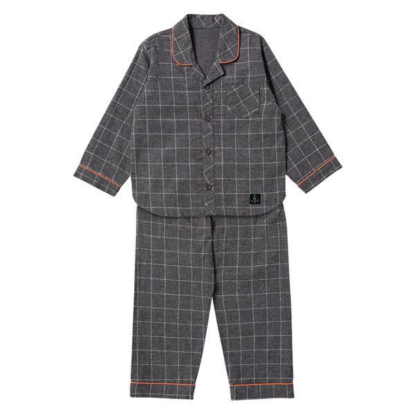 BFC남아기모직물잠옷02 면플란넬기모 아동 잠옷