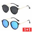 1+1 편광 미러선글라스 패션썬글라스 PVF-1040