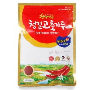 HACCP 국산 청결 고추가루 청아띠 비타C 듬뿍 1000g