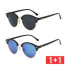 1+1 편광 미러선글라스 패션썬글라스 PVF-1032