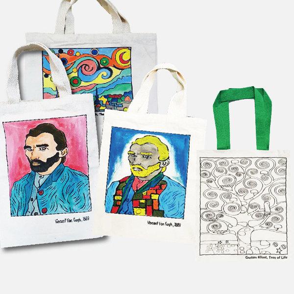 명화 에코백 / 만들기재료 미술재료 가방만들기 가방