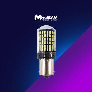 12V 엠프로빔 캔슬러내장 144 화이트LED램프 더블타입