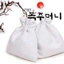 캔버스천 복주머니 / 주머니 가방만들기 만들기재료