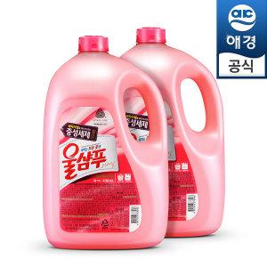 중성 세탁세제 울샴푸 대용량 4160ml (용기)x2개