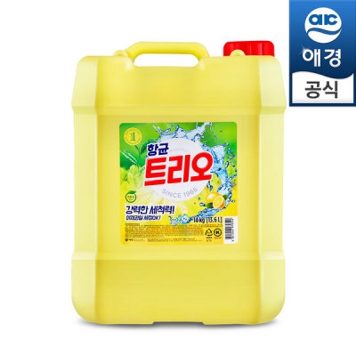 [애경] 주방세제 트리오 대용량 14kg