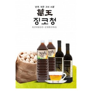 만왕 징코청 은행열매 발효식초 1500ml