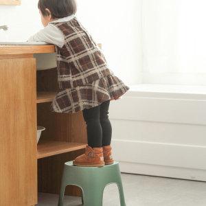 욕실 미끄럼방지 미니 의자 발받침대 키높이 유아 노인