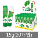 종이나라 나라풀 15g(20개입) 딱풀 풀 접착제 1박스