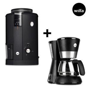 윌파  커피 전동그라인더+드립 커피메이커 세트 (CGWS130B+CM600)