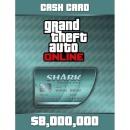 PC GTA5 샤크카드 800만 달러 락스타  24시간 발송