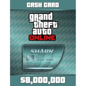 PC GTA5 샤크카드 800만+100만 달러 락스타 코드 발송